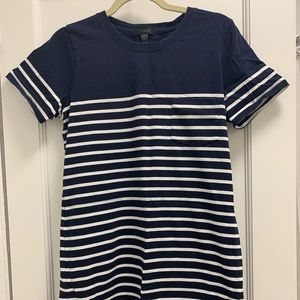 J. Crew Striped Beach Dress